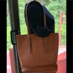 Handbags - LEATHER SHOULDER BAG